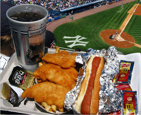 Camden Yards  Food